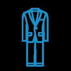 Suit + 5 shirt bundle